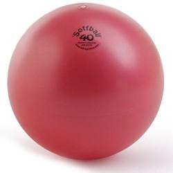 Aerobics ball PEZZI Softball MAXAFE 40 cm. Red