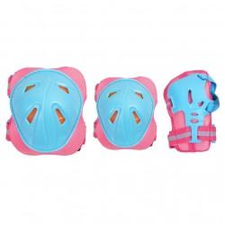 Protective set SMJ CR-368 Girl Blue-Pink