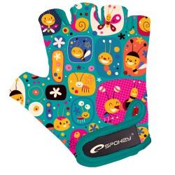 Cycling gloves Spokey Bumblebee