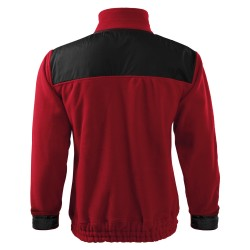 Fleece jacket HI-Q 506 Fleece Unisex Marlboro Red