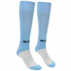 Football socks GIVOVA CALCIO, light blue