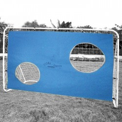 Football goal with net WORKER 2051