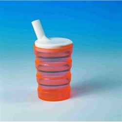 Sure-Grip bottle with two lids