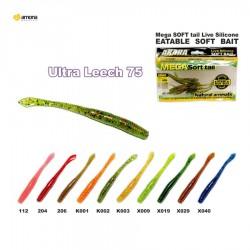 Soft bait AKARA Eatable Ultra Leech 75
