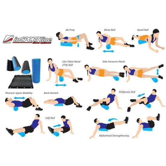 Yoga roller cover