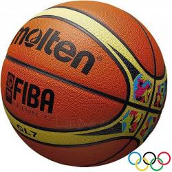 Basketball ball Molten BGL7-WCM  FIBA natural leather