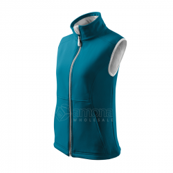 Women's vest VISION Softshell Turquoise
