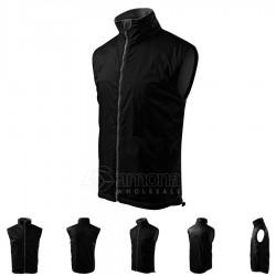 Men's Vest Body Warmer Black