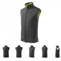 Men's vest VISION Softshell Gents Steel Gray