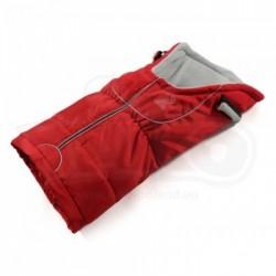 Sleeping bag with lamb fur TAKO Red