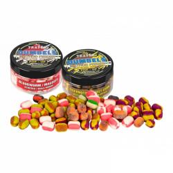 Mini boilies Duo Color POP-UP 30g. 8-10mm
