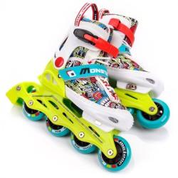 Roller skates METEOR MONSTER