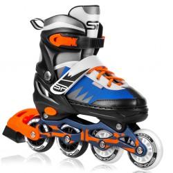 Rollers TONY black / gray / white / orange / blue