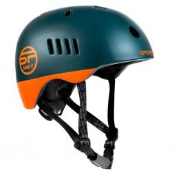 Helmet Spokey PUMPTRACK green