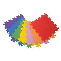 Foam mat floor tiles Palziv Rainbow