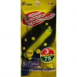 Light for night fishing Powder 7.5 x 75mm