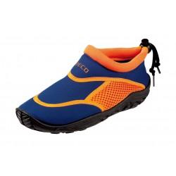 Aqua shoes BECO 92171, blue / orange