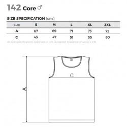 Men's T-shirt ADLER Core Dark Gray Melange