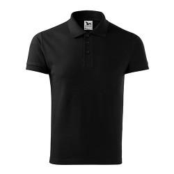 Men's Polo Shirt Cotton Heavy, Black