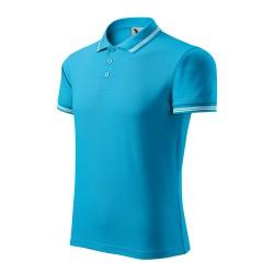 Men's Polo Shirt Urban, Blue Atoll